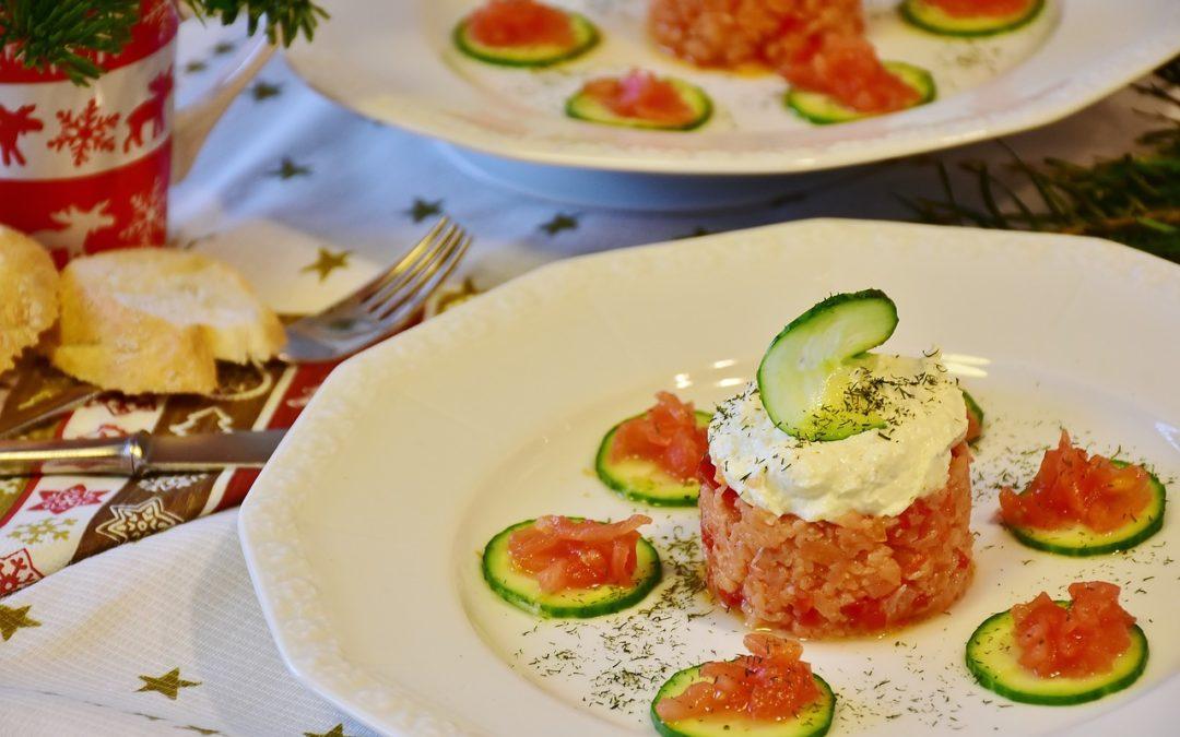 Catering de comidas y cenas para Navidad